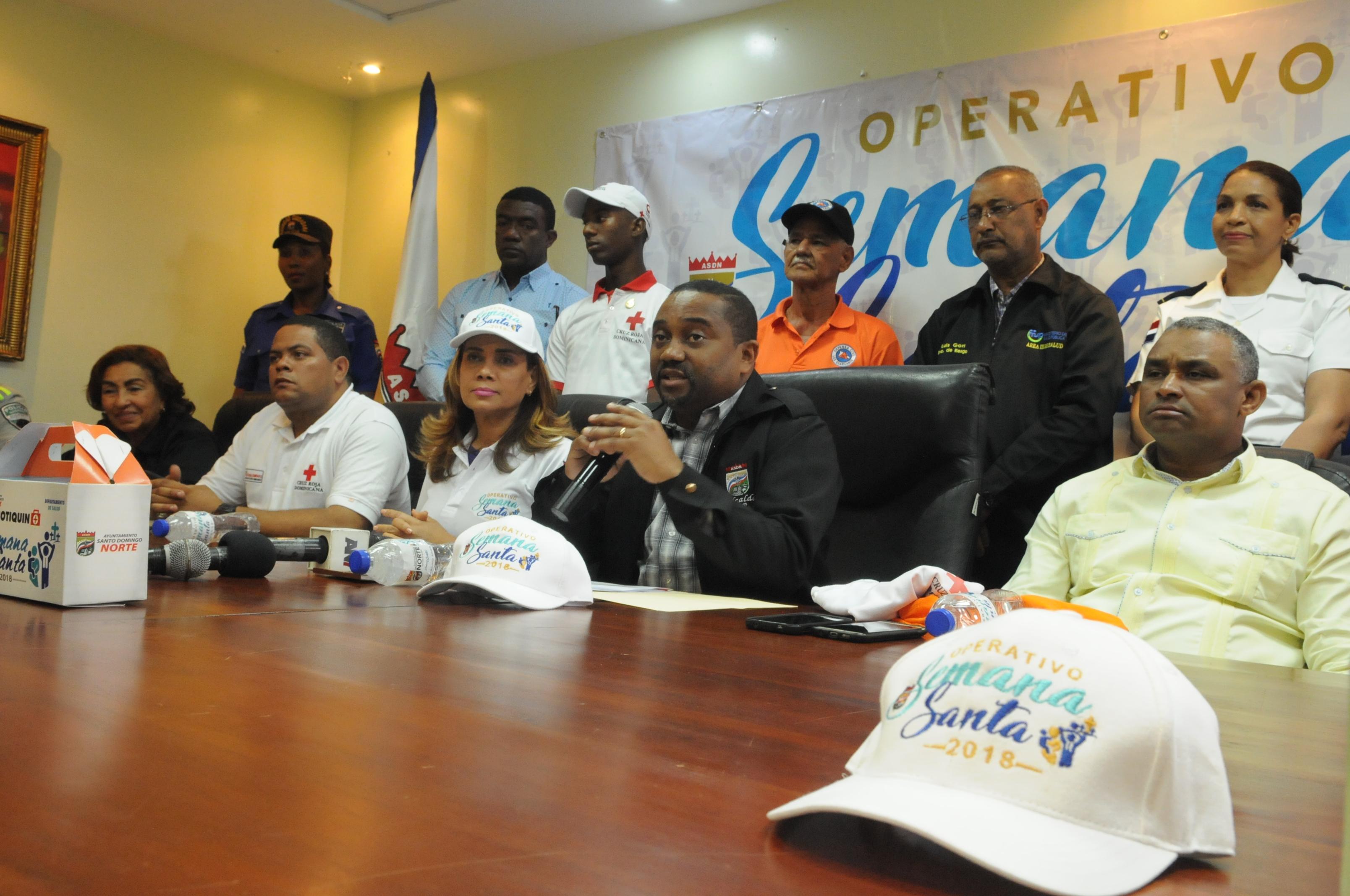 Alcalde René Polanco lanza Operativo Semana Santa 2018 con más de mil 600 personas para salvar vidas y evitar accidentes