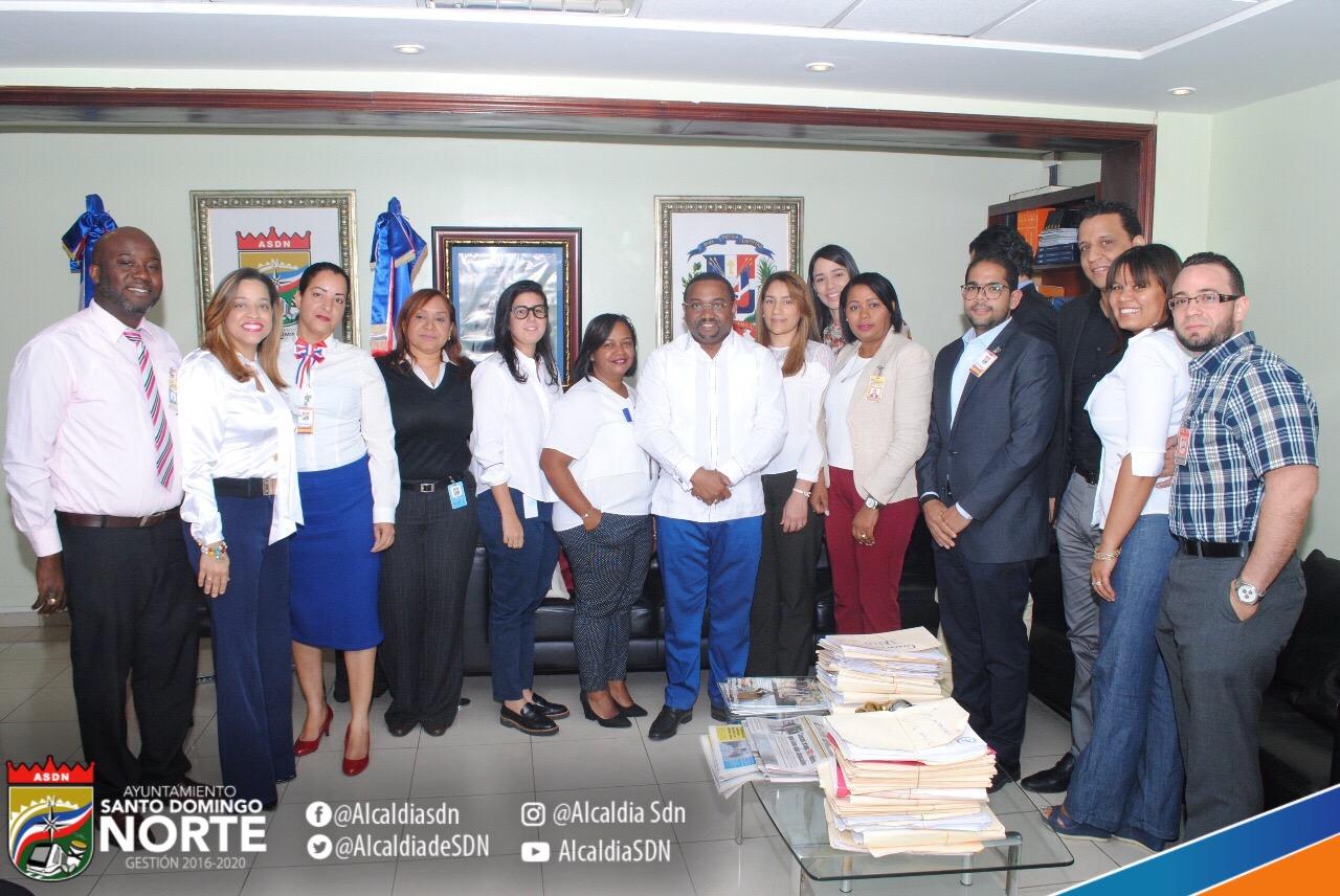 """La Alcaldía de Santo Domingo Norte dio su respaldo a la instalación de un """"Centro de Apoyo para Mujeres Maltratadas"""""""