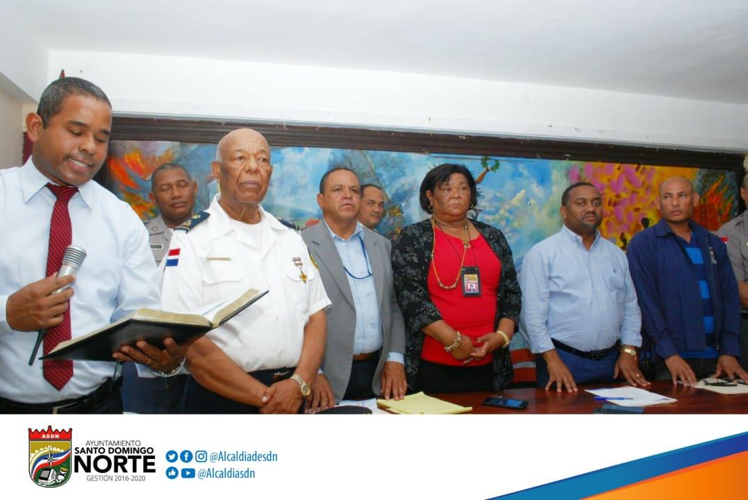 El alcalde René Polanco realiza encuentro con lideres comunitarios de los bloques Sabana Perdida Norte y Sur