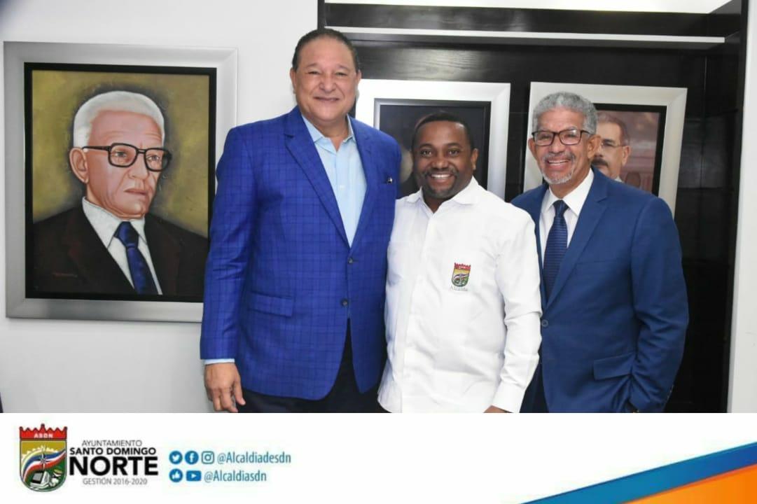 Alcalde René Polanco pondera como positivo presidente Medina otorgue poderes a CAASD para ampliación Acueducto Oriental