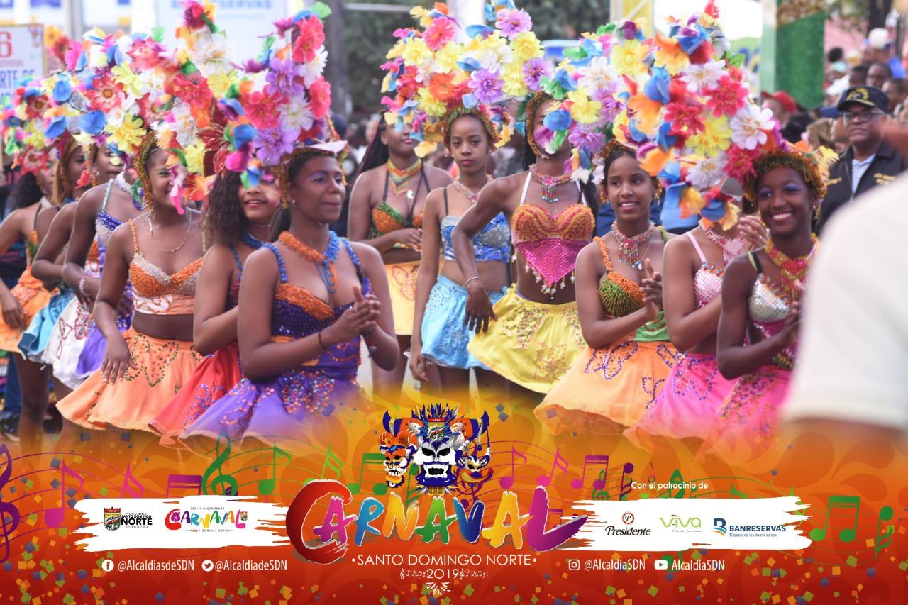 Santo Domingo Norte realizará grandioso cierre de Carnaval este domingo
