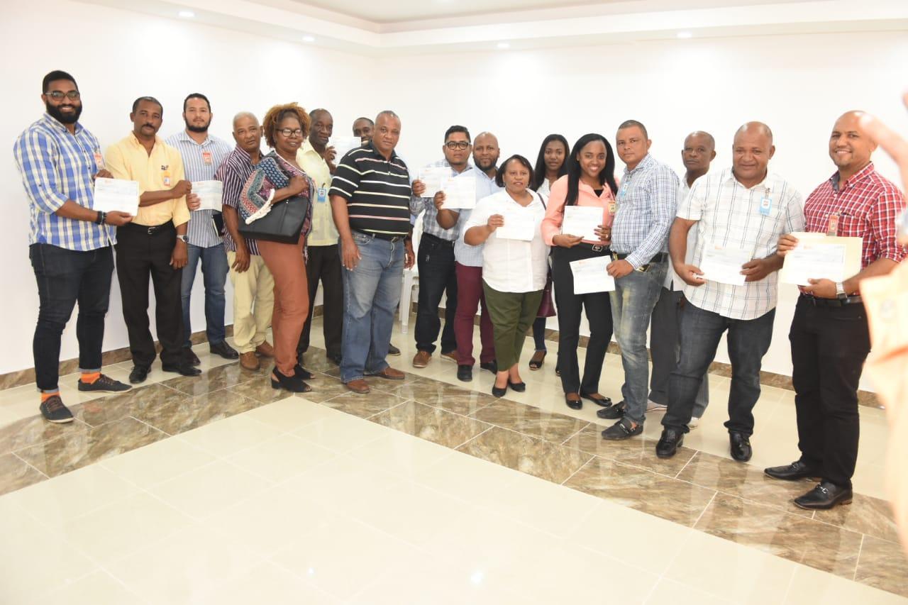 ASDN entrega primera partida para obras Presupuesto Participativo a ingenieros ganaron sorteo