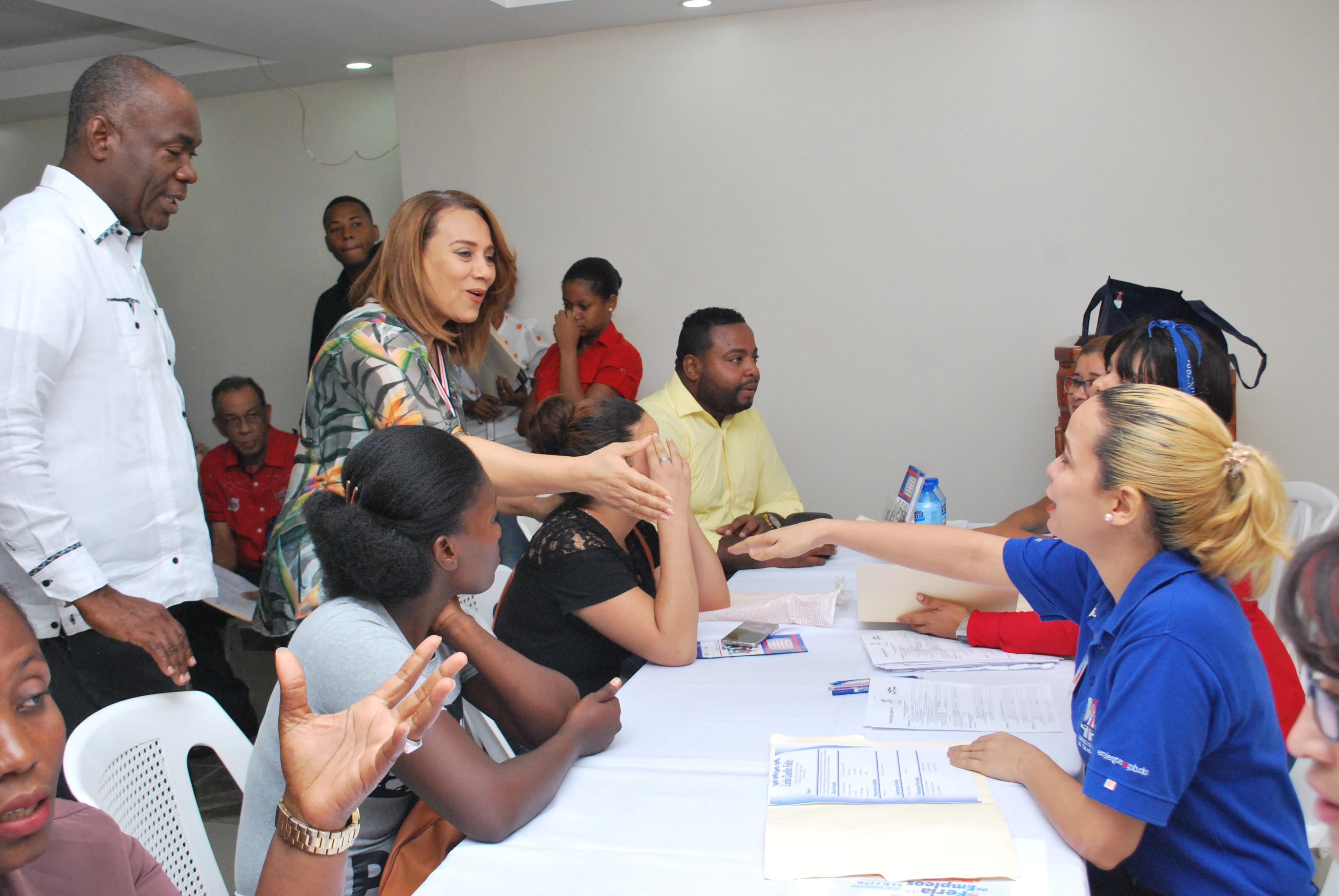 Alcaldía Santo Domingo Norte y Ministerio de Trabajo realizaron con éxito 4ta Jornada de empleo