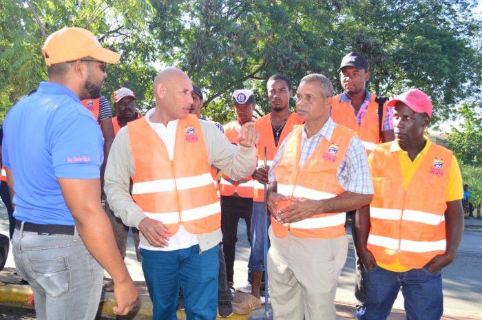 Alcaldíade Santo Domingo Norte realiza amplio operativo de limpieza y eliminación de vertederos improvisados