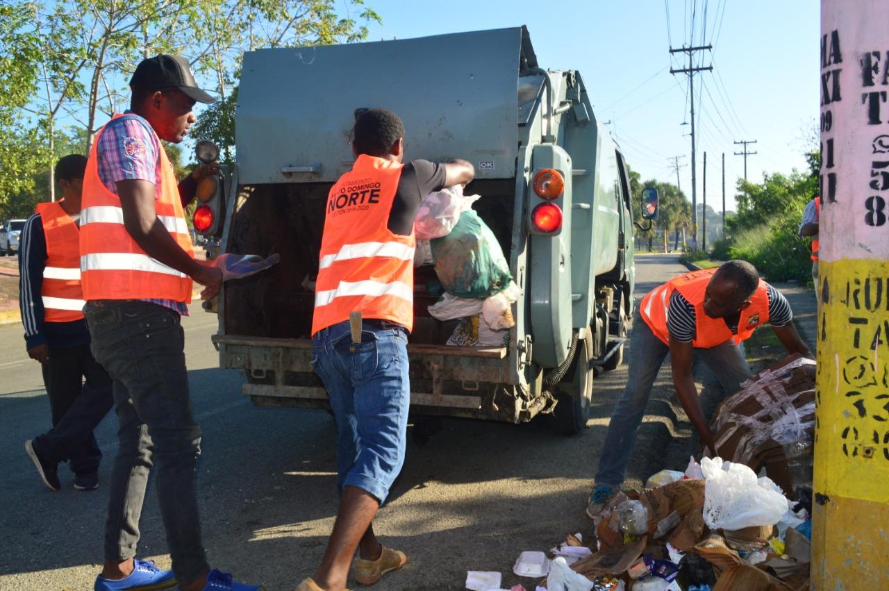 Alcaldía de Santo Domingo Norte inicia este jueves operativo de limpieza fin de año