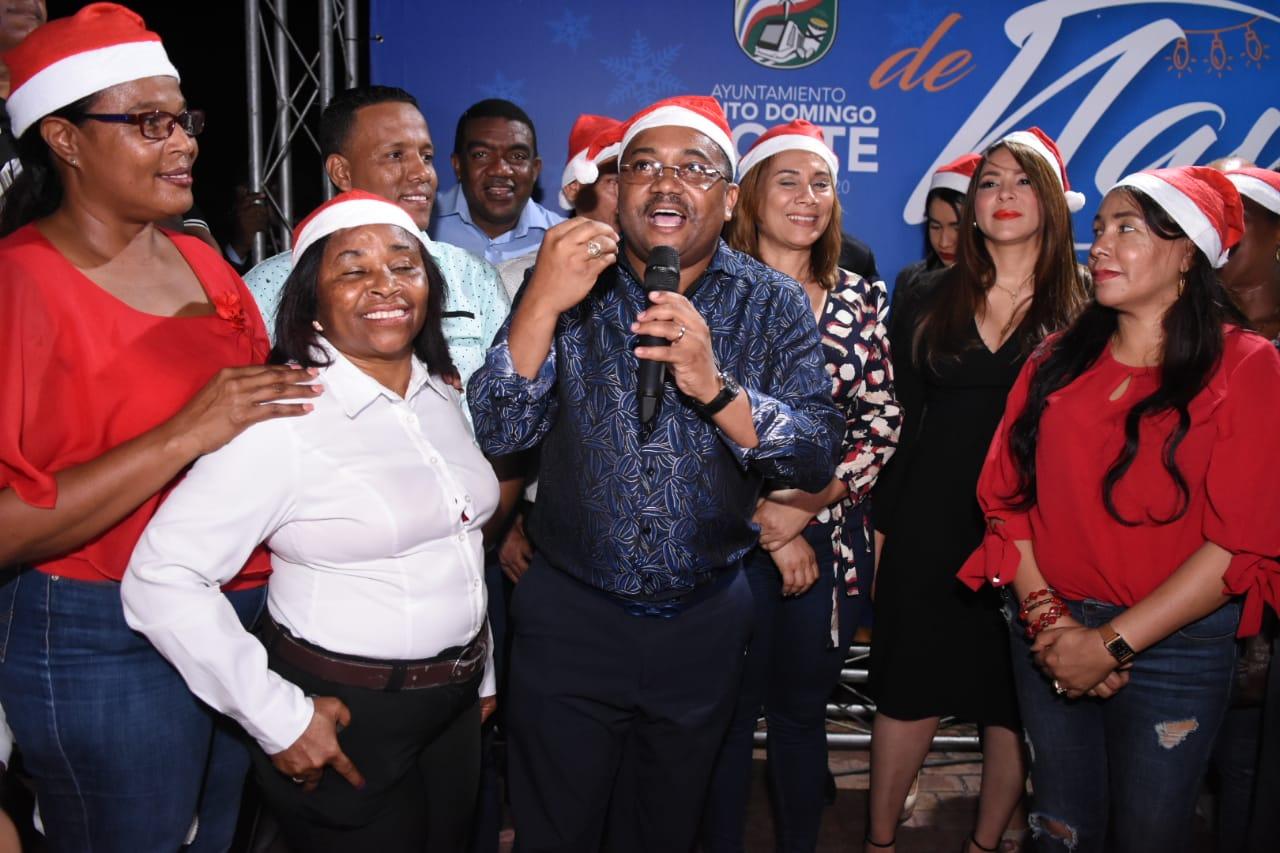 Alcalde René Polanco llama a la convivencia sin violencia ni excesos a la hora de conducir en Navidad