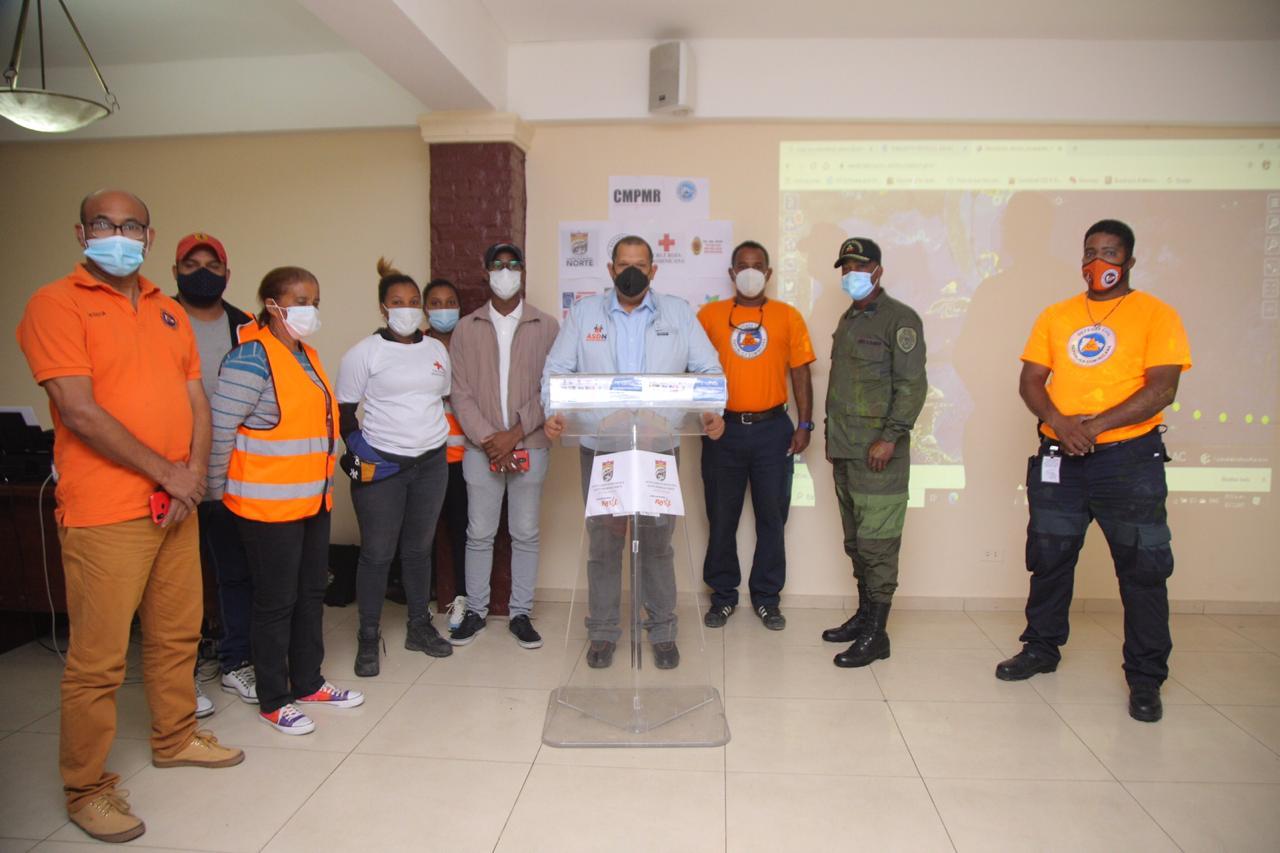 Alcaldía SDN activa Comité de Prevención ante paso de fenómenos atmosféricos